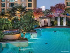 Dosti West County Amenities - Olympic Sized Swimming Pool