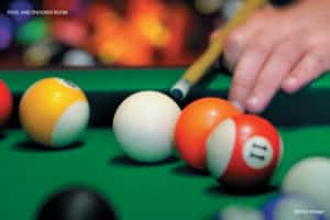Dosti West County Amenities - Pool & Snooker Room